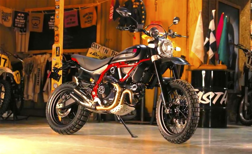 Ducati Scambler Desert Sled Fasthouse Limited Edition 1
