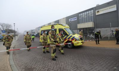 Explosion at Amsterdam Covid test centre 'appears intentional'