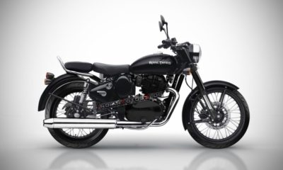 Royal Enfield Classic 650 rendered