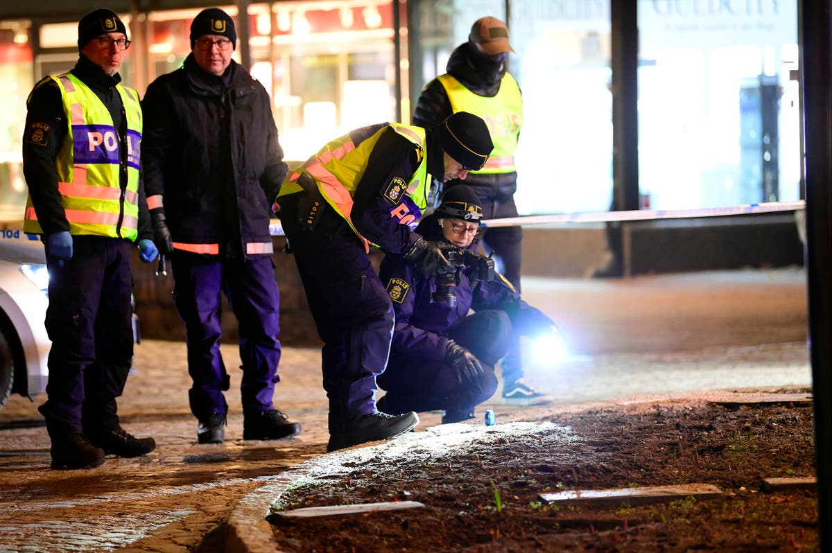 Man armed with axe injures 8 in possible terrorist attack in Sweden