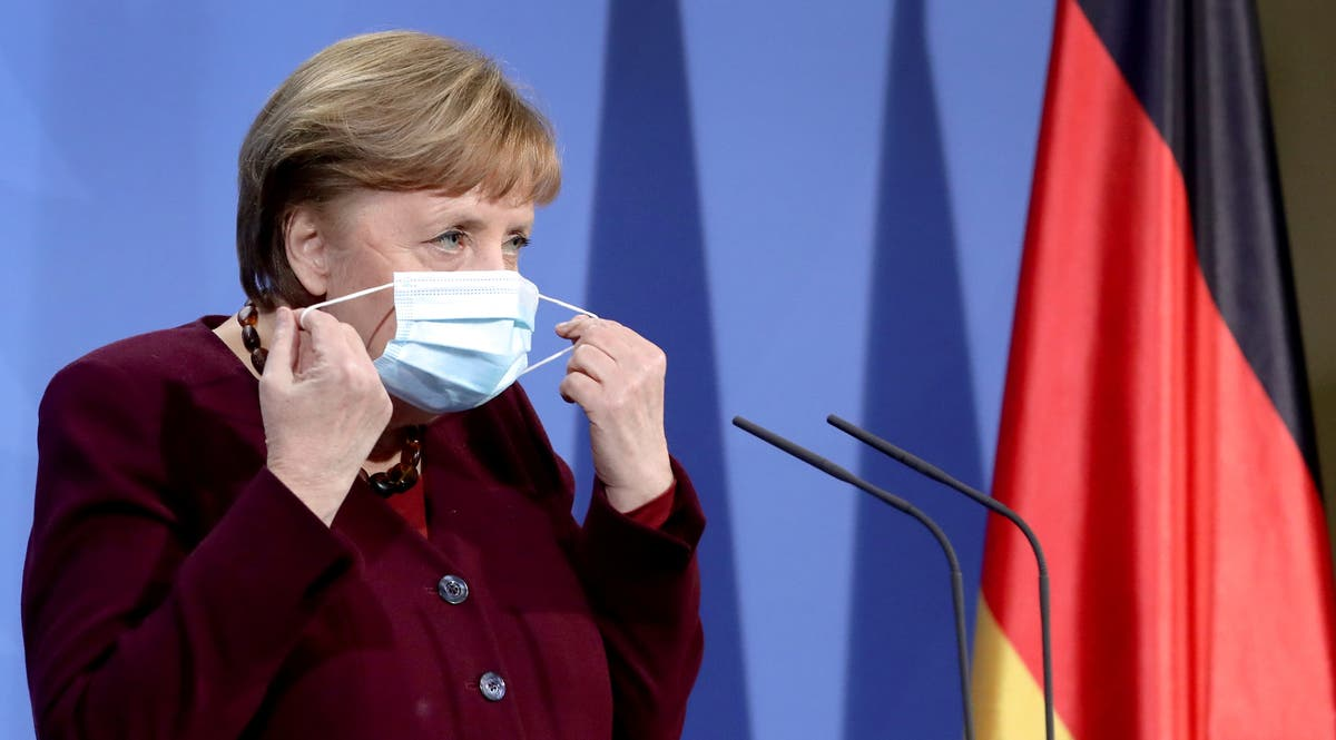 Germany suffering 'exponential' rise in Covid-19 cases, warns Merkel