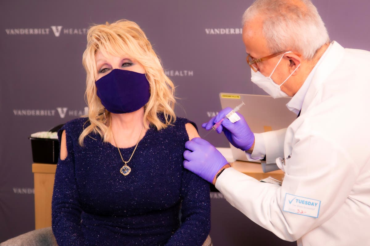 How Dolly Parton turned getting her vaccine into a viral moment