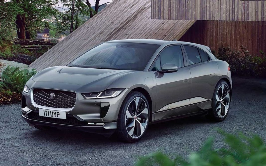 Jaguar I-Pace front three quarter