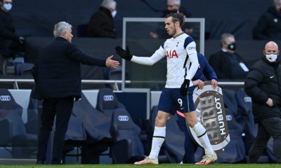 <p>Mourinho says Bale's future is up to Real Madrid</p>