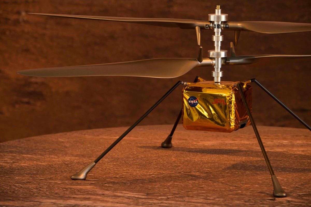 NASA to fly first helicopter on Mars in early April