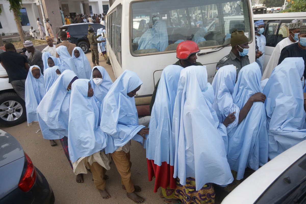 Almost 300 schoolgirls kidnapped in Nigeria are free, says state governor