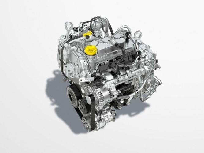 Nissan Magnite 1.0L turbocharged engine