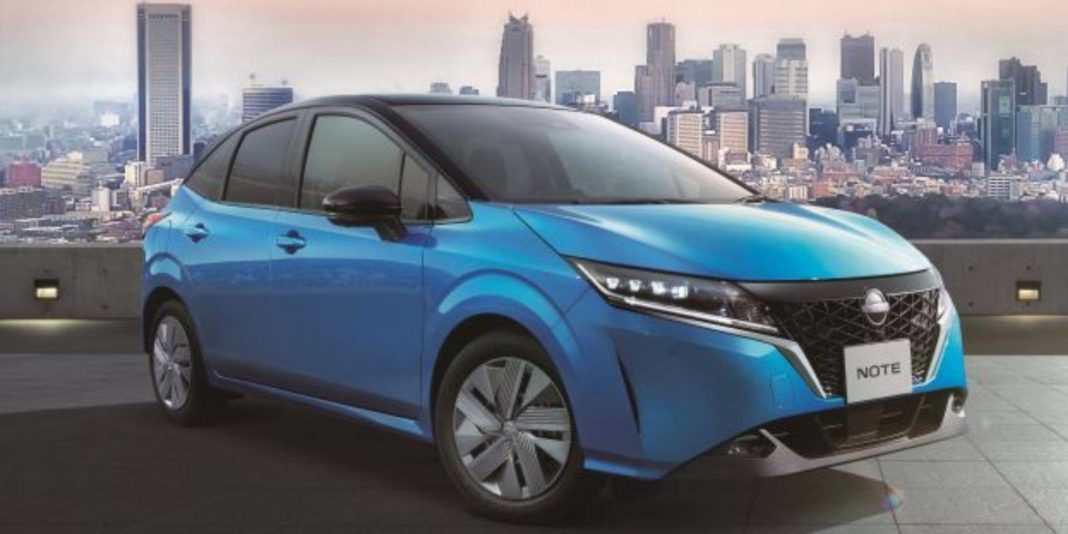 2021 Nissan Note Front