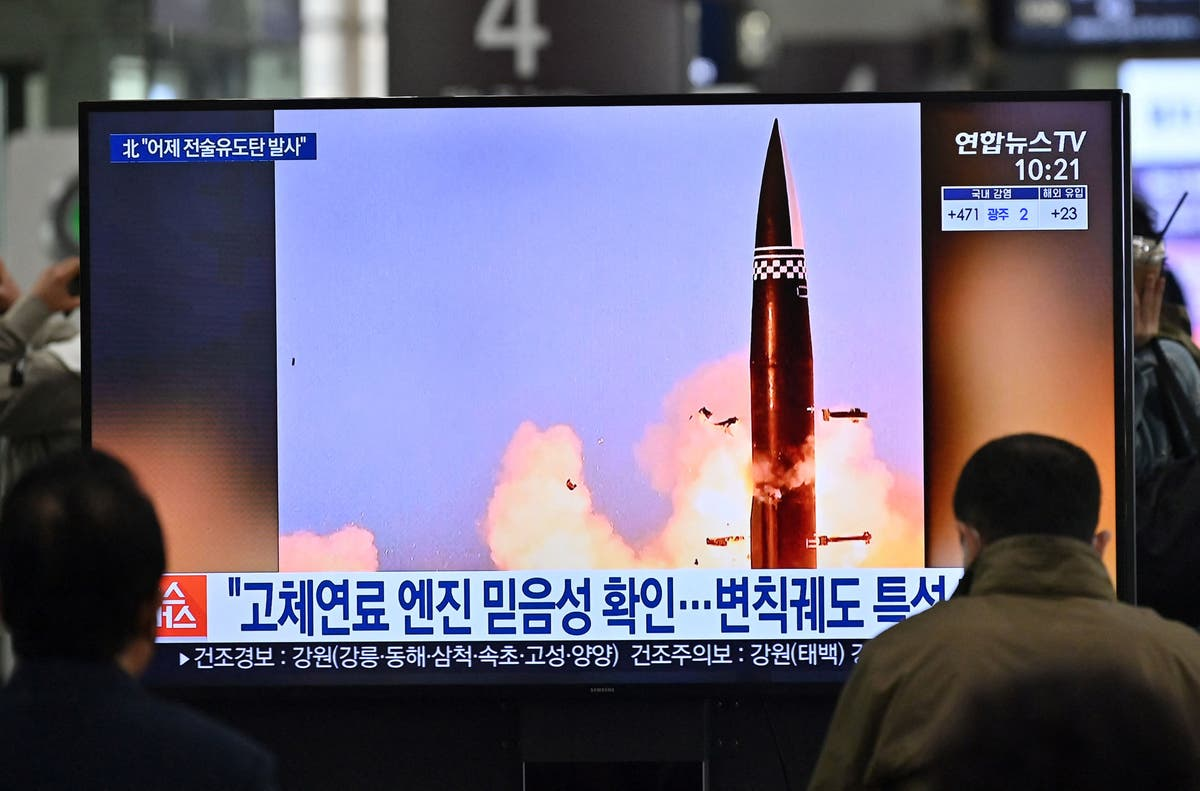 North Korea claims 'new' missiles test amid rising tensions with US