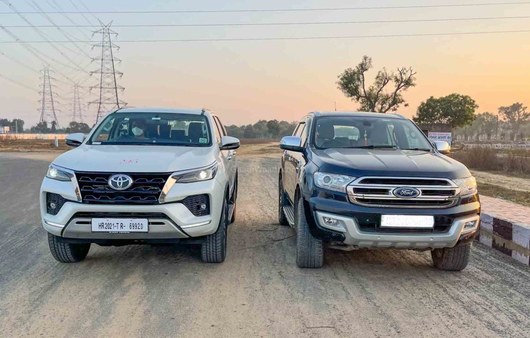 2021 toyota fortuner facelift vs endeavour-1-2