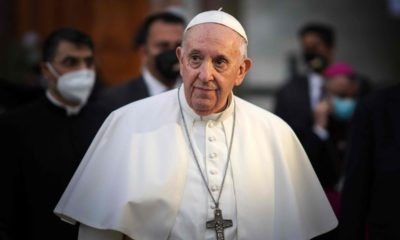 Pope Francis opens first-ever papal visit to Iraq amid tight security