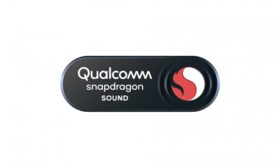 The Qualcom Snapdragon Sound logo on a white background.
