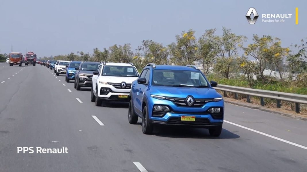 PPS Renault Kiger 100 deliveries in one day 2