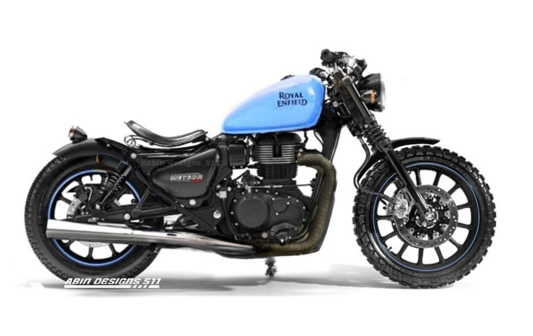 Royal Enfield Meteor rendering Abin Designs 511