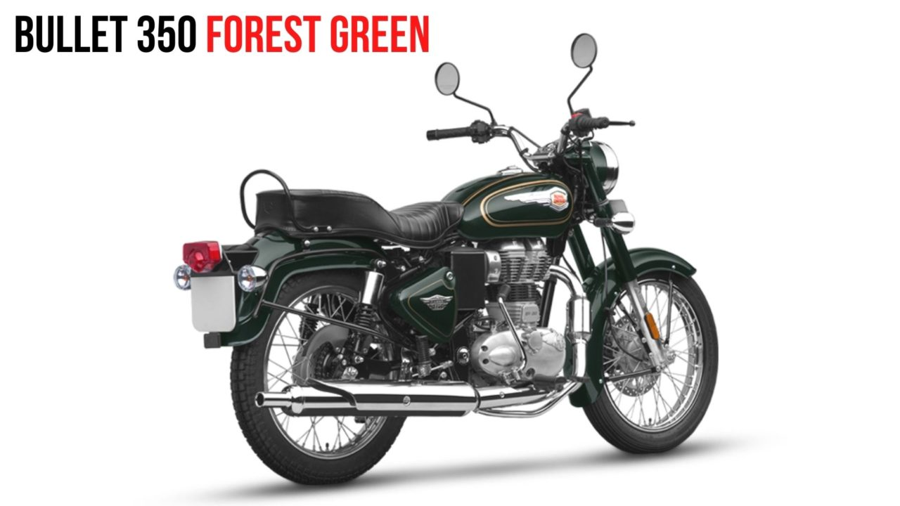 RE Bullet 350 Forest Green (2)