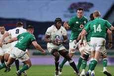Ireland vs England, Six Nations 2021: Team news, lineups, TV channel, live stream, kickoff time, h2h, odds