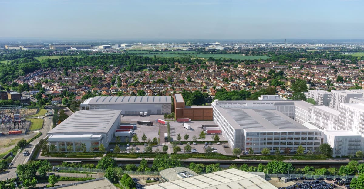 Segro starts building new industrial park on former Nestle site in Hayes