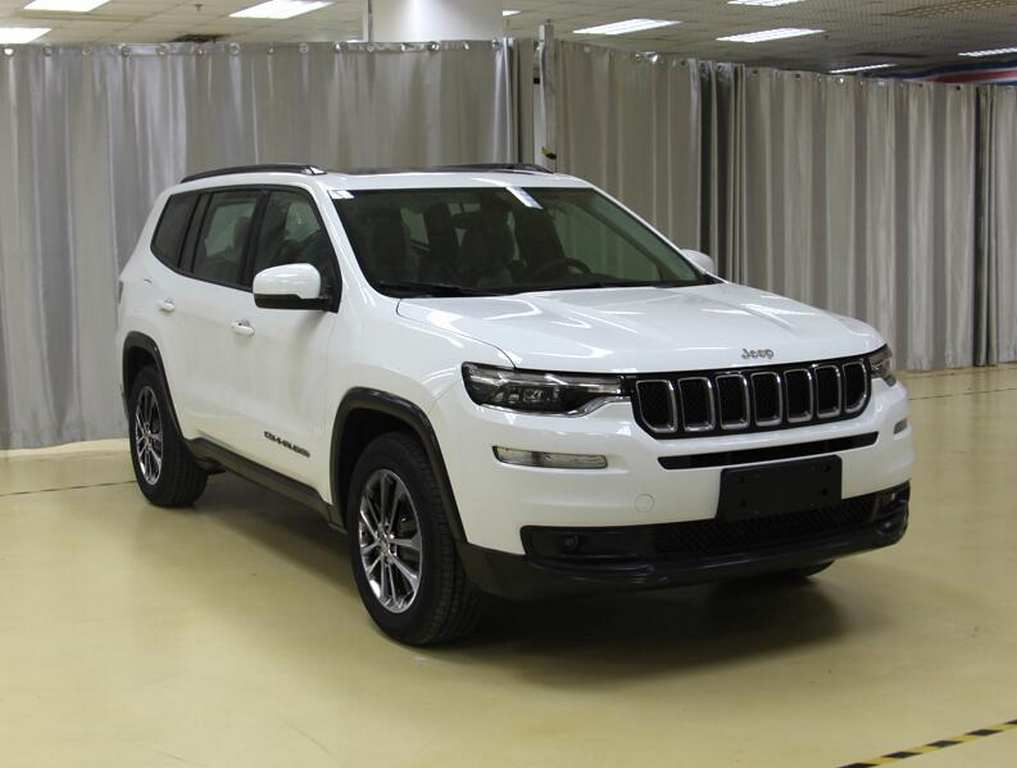 2018 Jeep Grand Commander (Seven Seat SUV) Leaked Fully In New Images