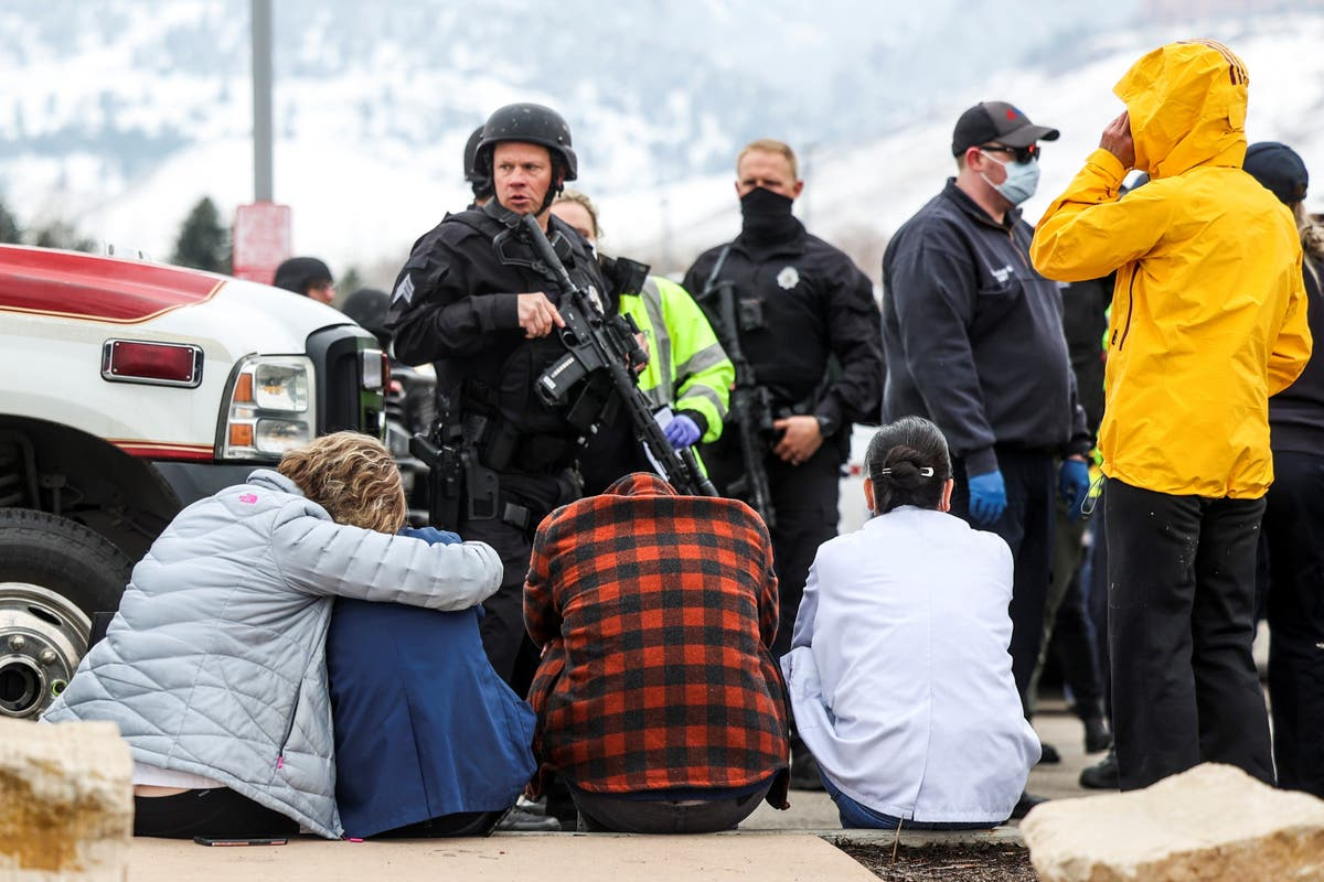 Suspect, 21, named over mass shooting at a Colorado grocery store