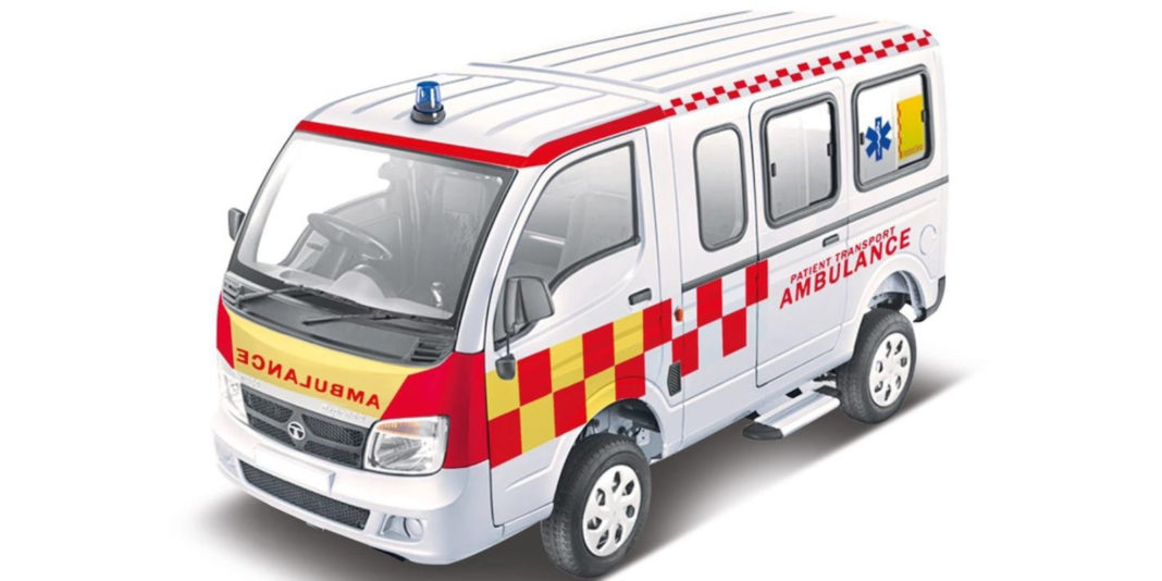 Tata Magic Express Ambulance