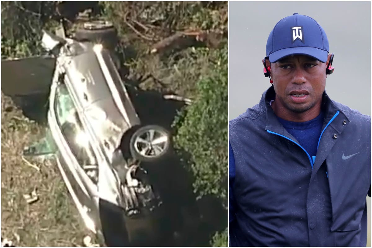 Tiger Woods leaves hospital following horror crash last month