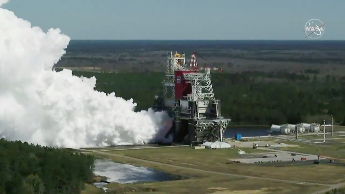 To the moon! NASA completes key test on world's most powerful rocket