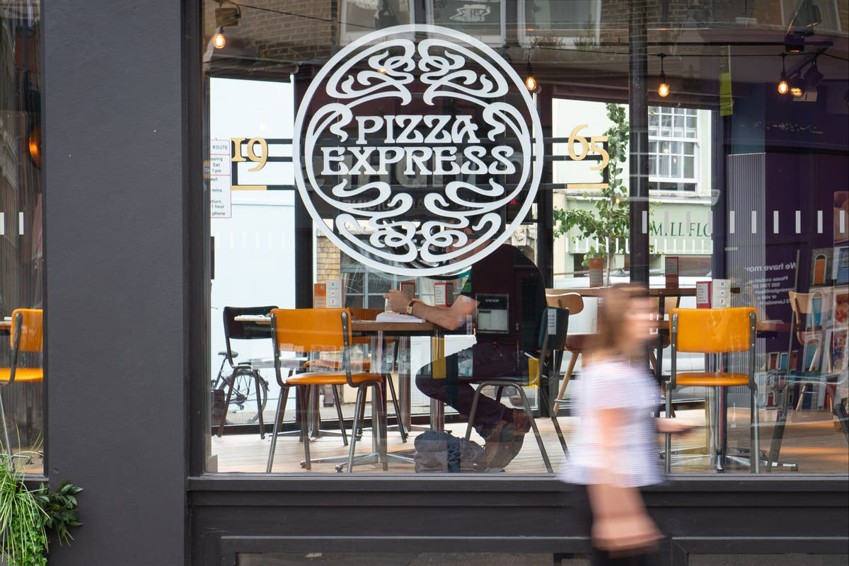 Full list of 118 Pizza Express restaurants to open for outdoor dining from April 12