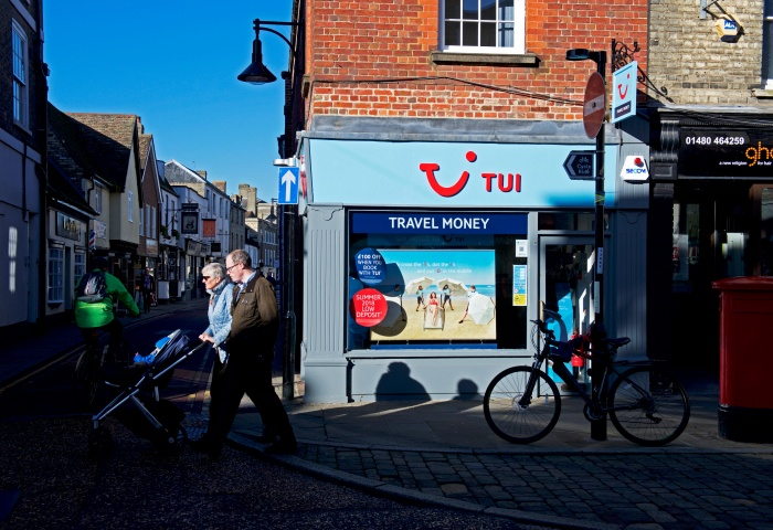 Tui Group confirms new UK shop closures