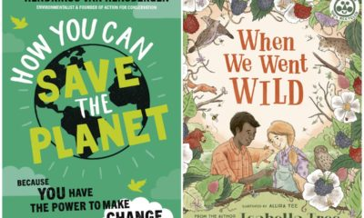 Two children's books on how to save the planet