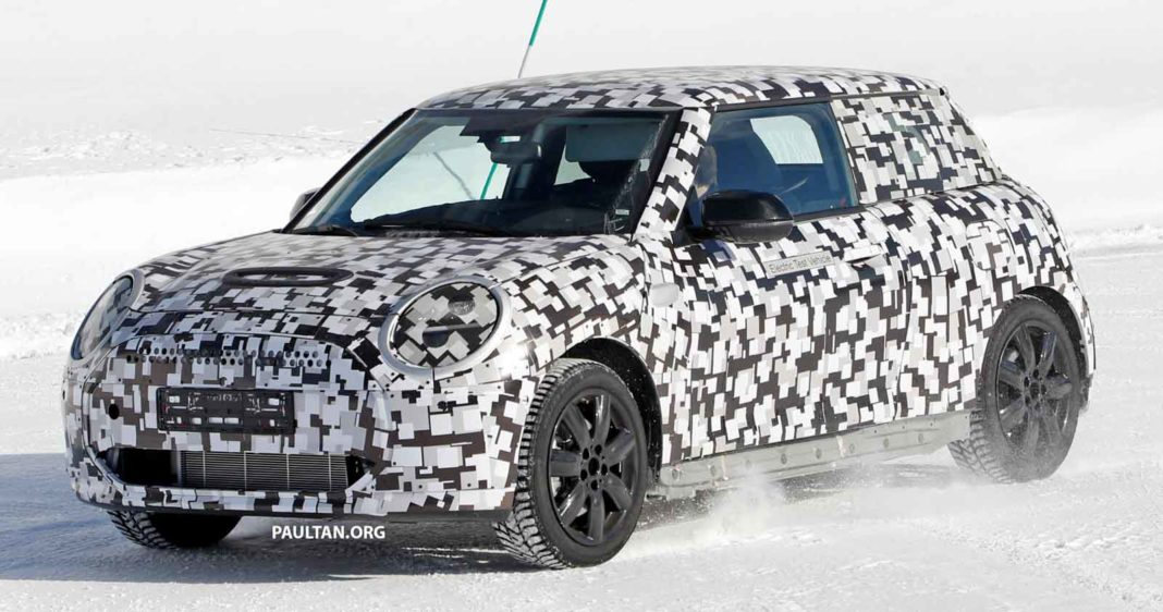 Next Gen Mini Cooper EV
