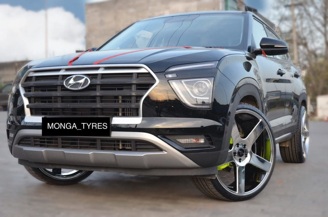 Hyundai Creta modified 22-inch wheels 6