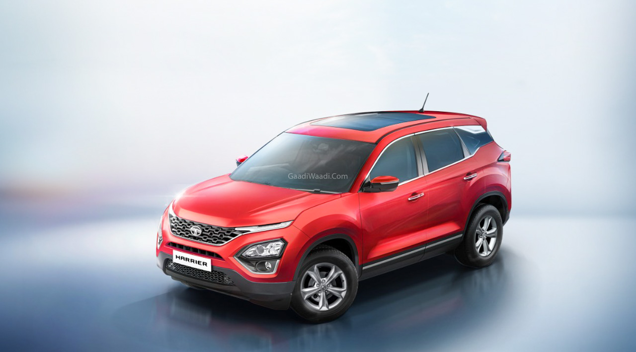 Tata Harrier XT+ Sunroof-5