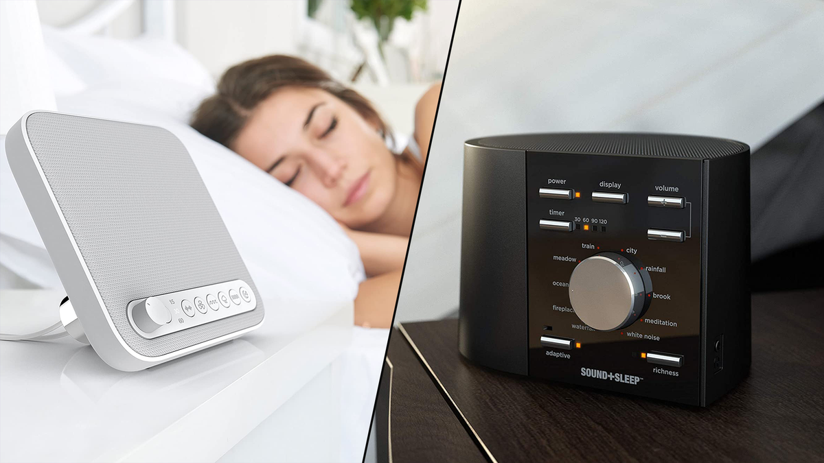 4 Amazing White Noise Machines That'll Help You Get a Good Night's Sleep