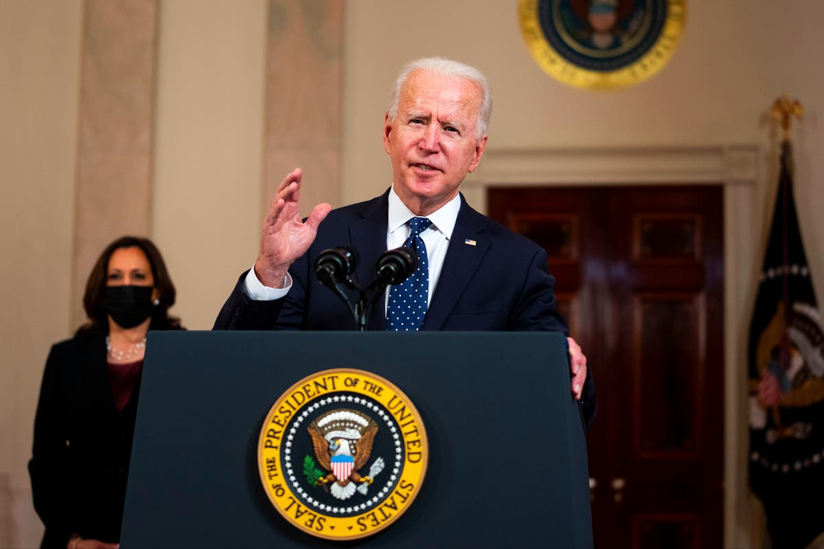 Biden: Chauvin conviction giant step forward against systemic racism