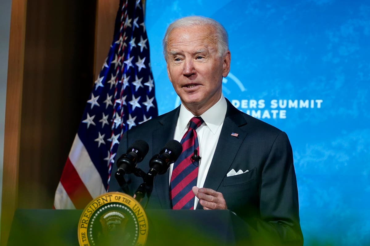 Biden warns leaders of 'decisive decade' ahead for climate crisis