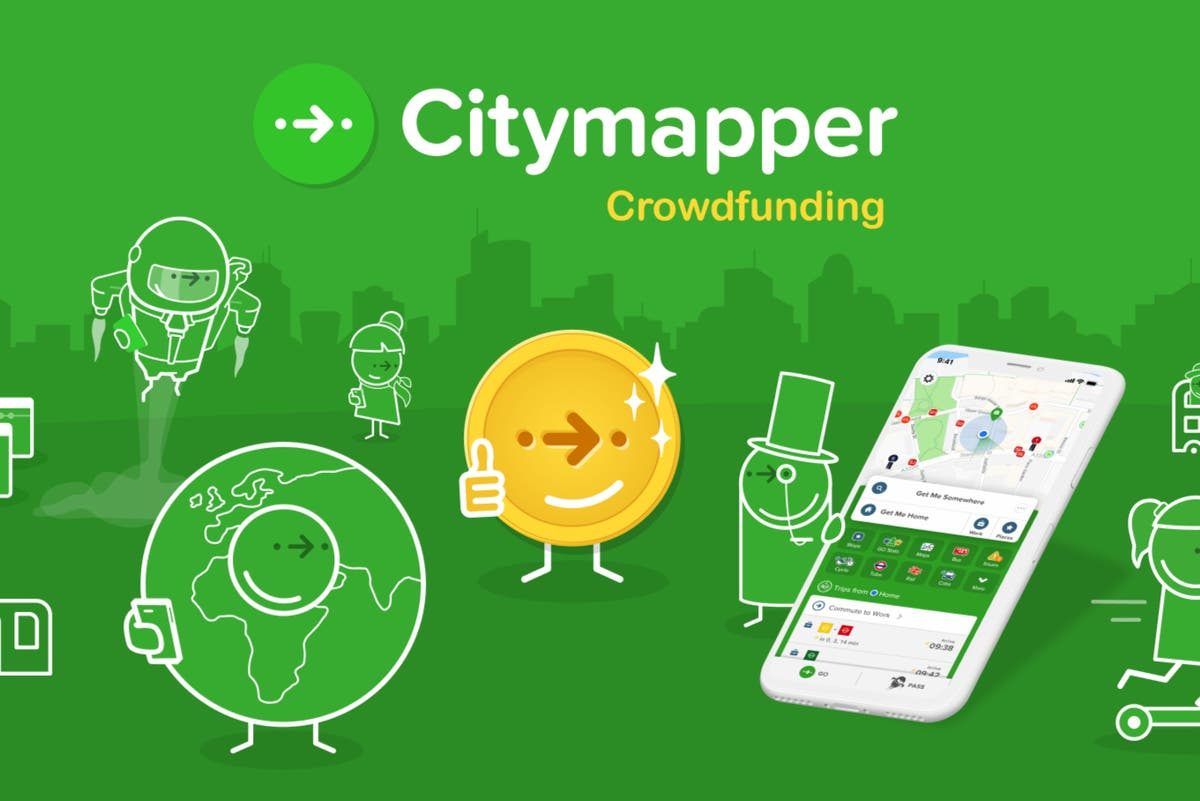Citymapper launches first ever crowdfunding campaign and reveals expansion plans