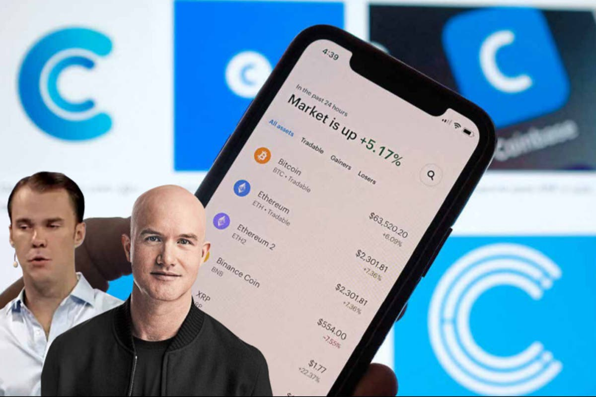 Coinbase to join ranks of biggest US companies with $100bn launch in New York
