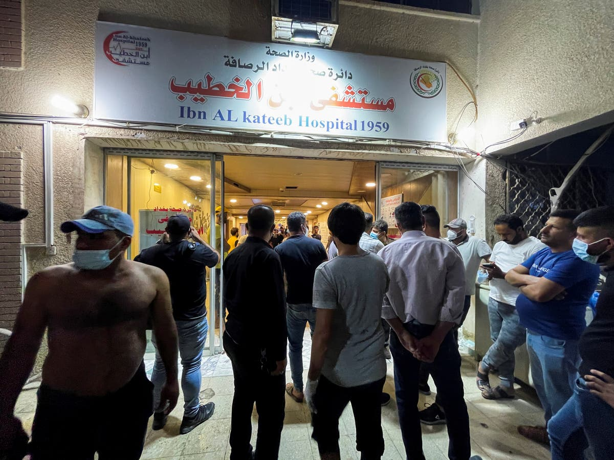 Coronavirus live: 23 dead in Iraq after fire at coronavirus hospital
