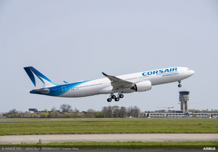 Corsair welcomes first Airbus A330-900 to fleet