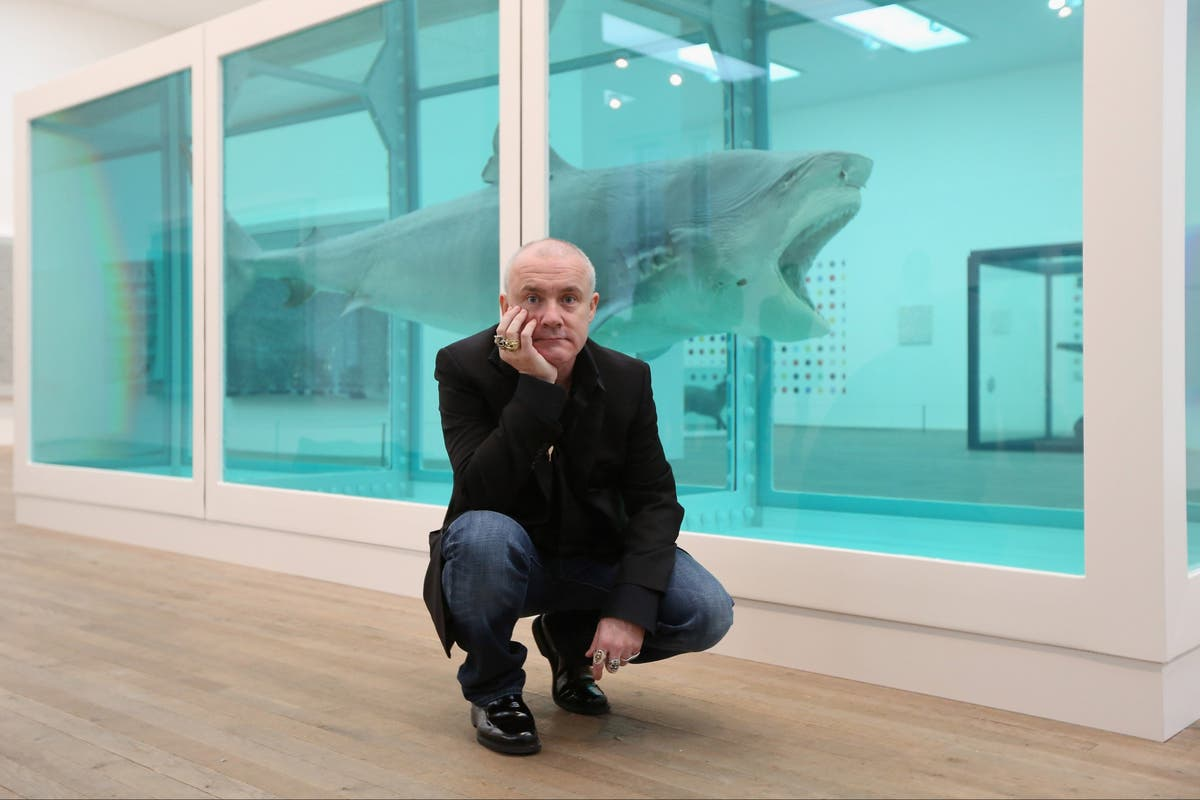 Damien Hirst is exhibiting at Gagosian in London for a year. Why now?