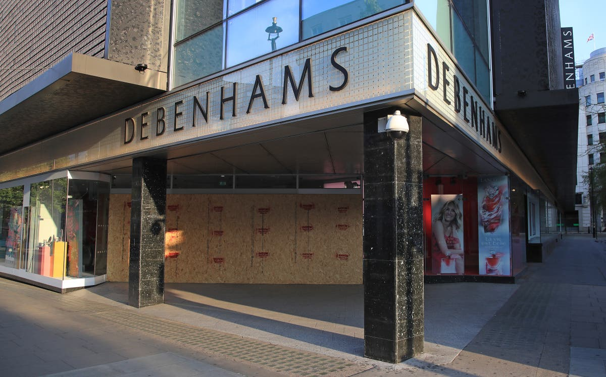 Debenhams reveals closure date for another raft of stores