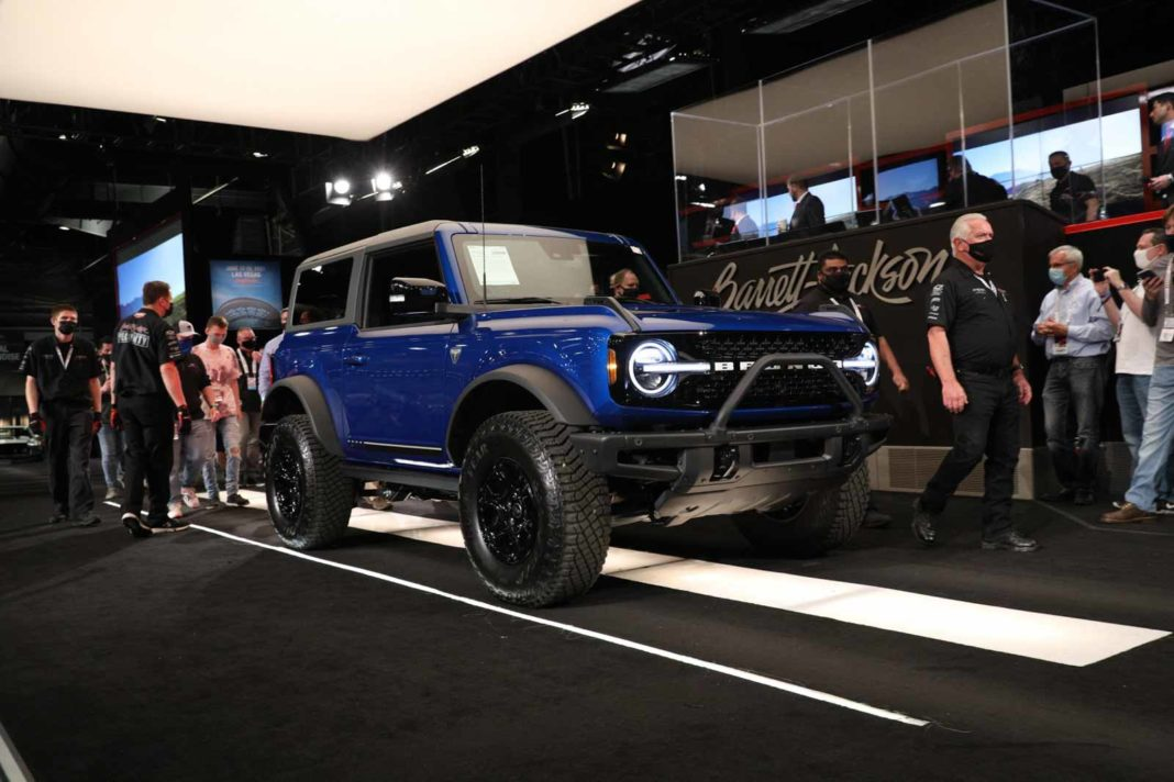 First 2021 Ford Bronco Auctioned Out 1