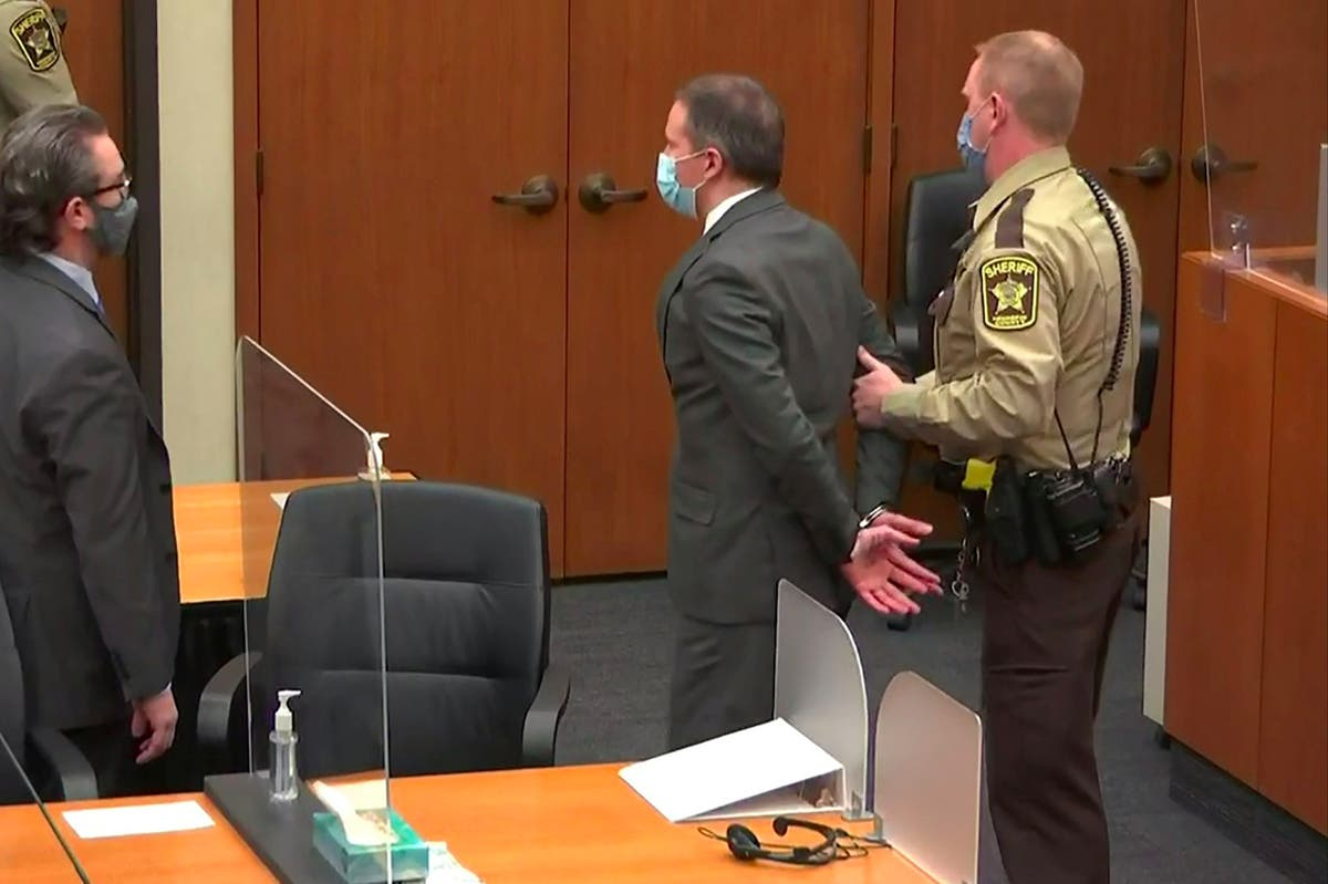 Former police officer found guilty of murdering George Floyd
