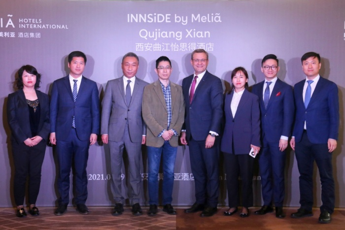 INNSiDE by Meliá Qujiang Xian signed in China