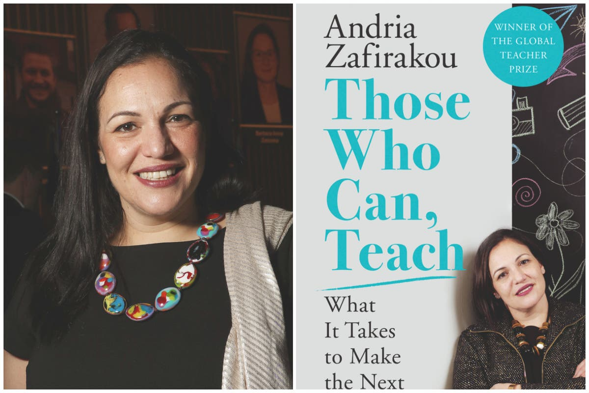 Those Who Can, Teach by Andria Zafirakou: inspiring children and going 'above and beyond'