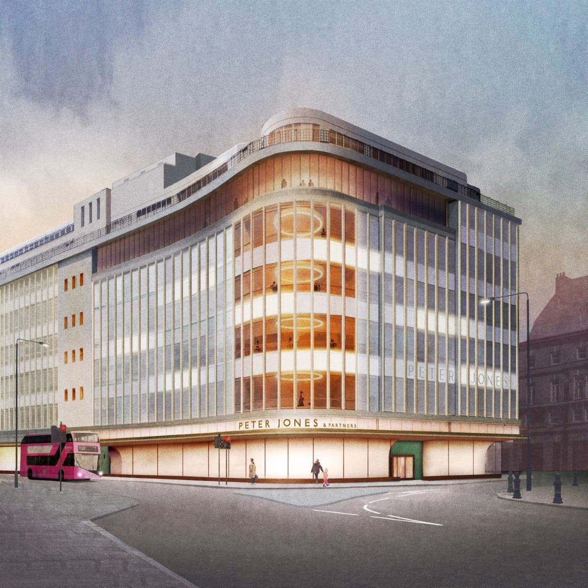 John Lewis start work on renovation project at its Peter Jones shop on Sloane Square