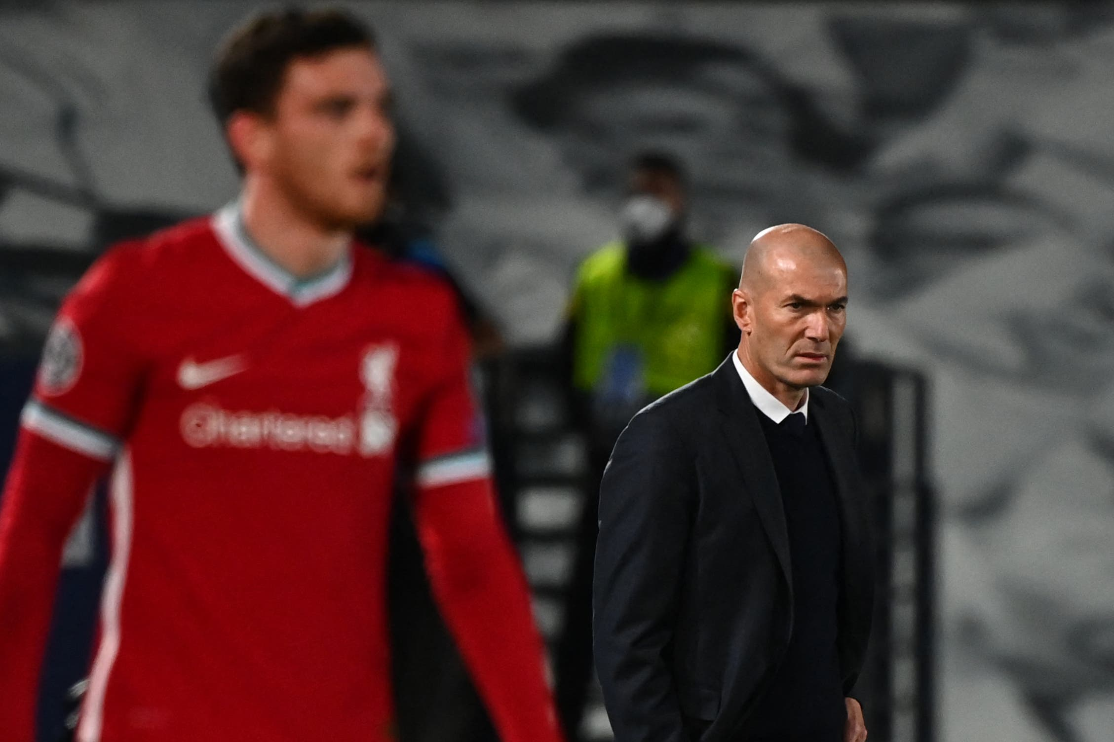 Liverpool FC vs Real Madrid: Zinedine Zidane ready for Anfield test with squad 'stretched to the limit'