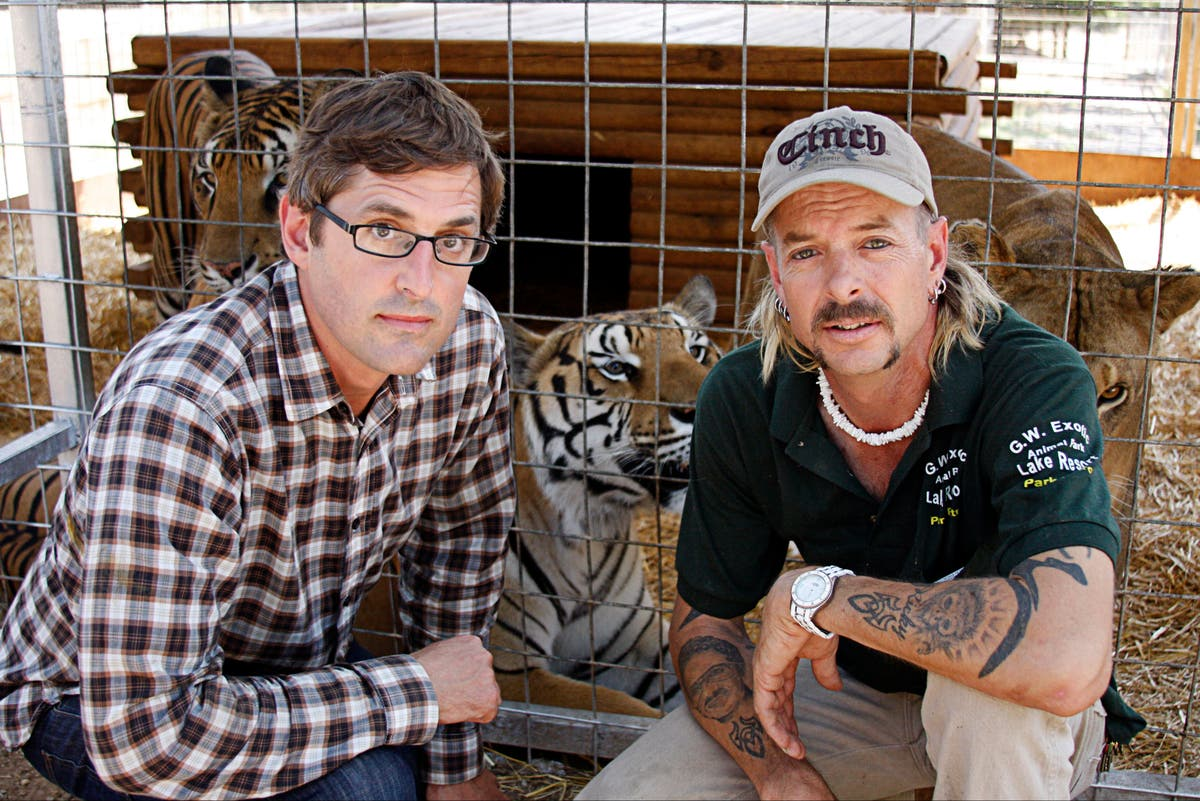 Louis Theroux: 'It was hard not to be charmed' by Joe Exotic