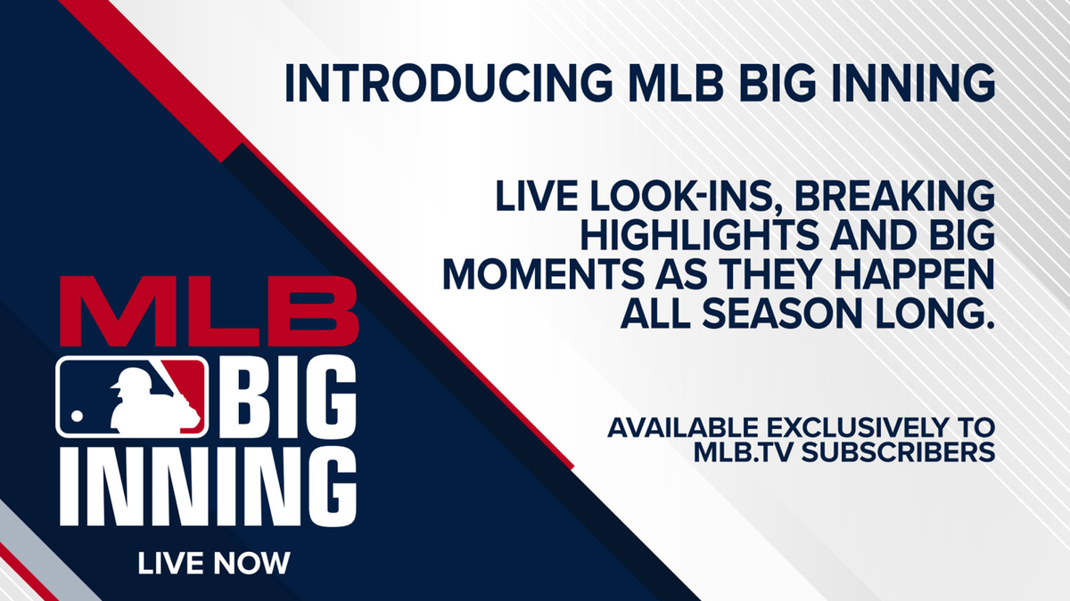 The MLB Big Inning logo.
