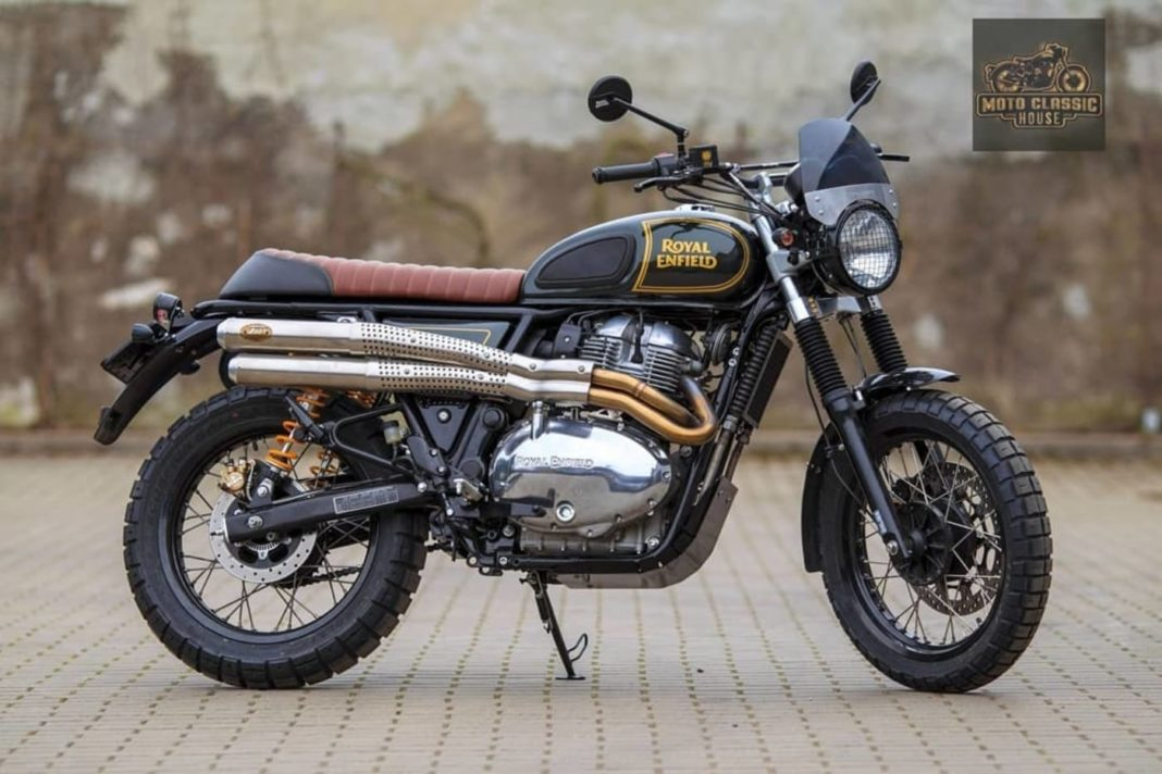 Royal Enfield Interceptor 650 MCH Scrambler v2.0